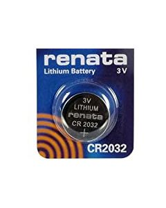 Renata CR2032 3V Lithium Coin Cell Watch Battery DL2032, ECR 2032, BR 2032 (1 x CR 2032)