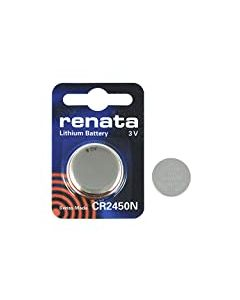 2 x Genuine Renata CR2450N Lithium 540mAh Battery 3V Cell Coin Button Watch Batteries