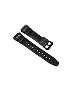 Casio Collection Bracelet Resin Replacement Watch Strap in Black for SGW 450h 10500870