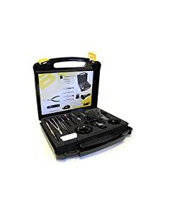 Bergeon 7812 Quick Service Set in Hard Case (12 Tools Assortment)