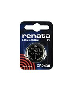 Renata CR2430 Set of 2 lithium Batteries 3 V