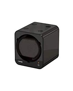 NEW BOXY FANCY BRICK WATCH WINDER in Black 309395